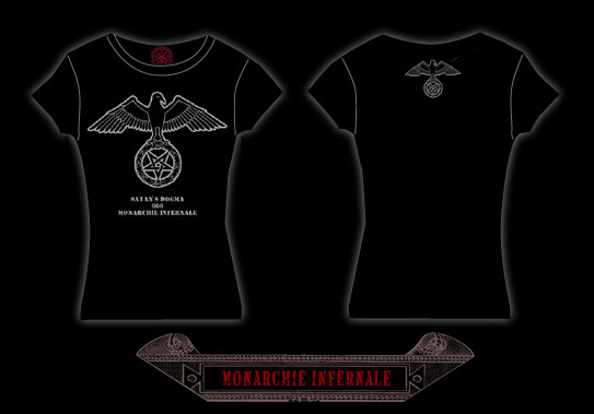 MONARCHY INFERNAL Ladies T shirts